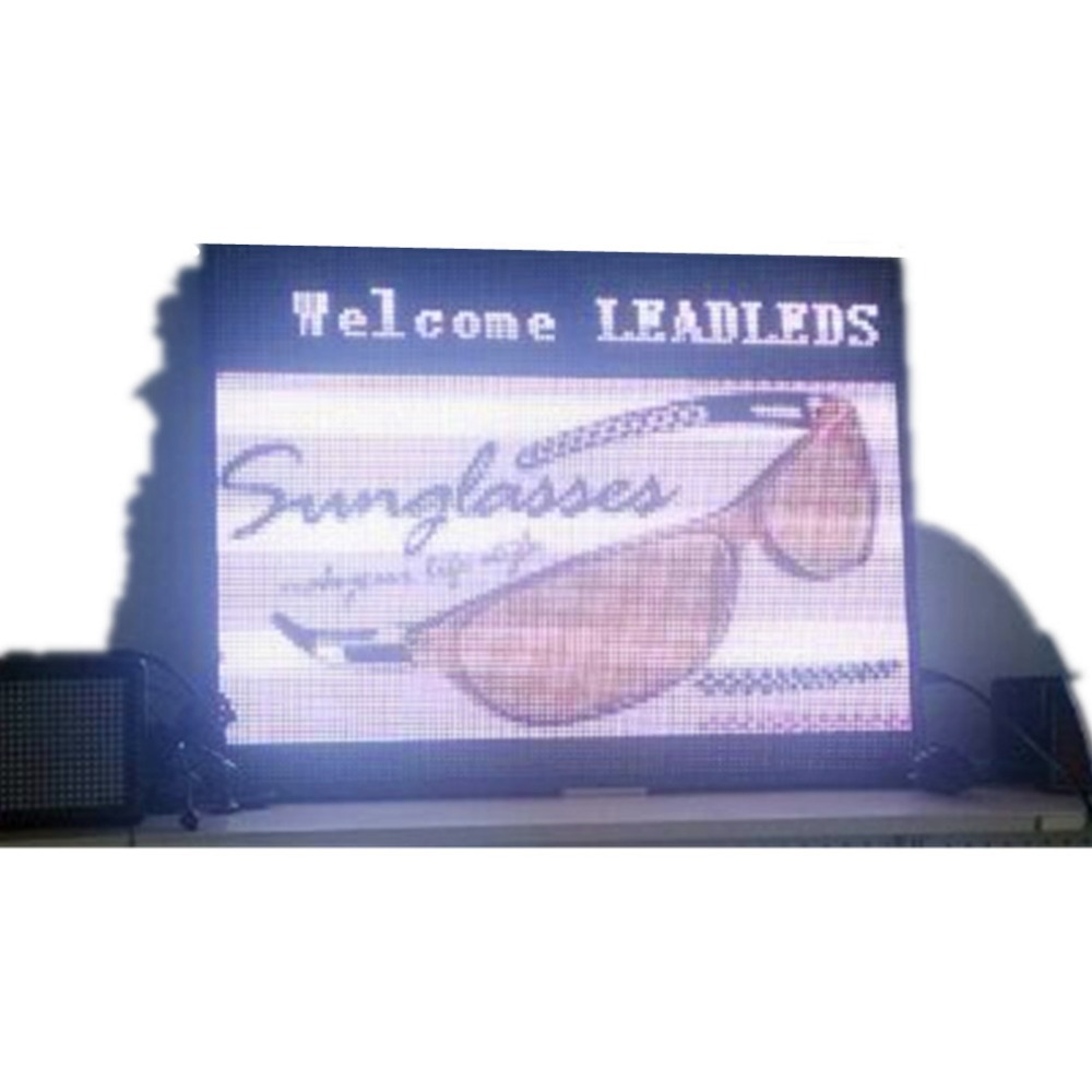 P6 SMD Full Color show window Shop signs LAN Programmable Led Window Sign Moving Message Board