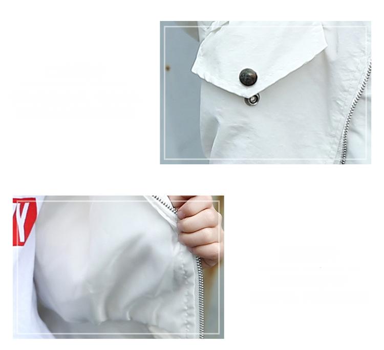 HTB1DVyAX2BNTKJjSszbq6yFrFXai - Weixu Children Spring Autumn Coat for Girls Fashion Kids White Bat Sleeves Oversize Biker Jacket Girls School Wear Bomber Jacket