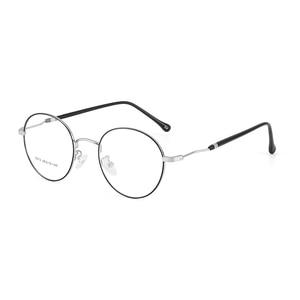 Image 5 - BCLEAR 2019 del Nuovo Uomo Donna Retro Grandi Occhiali Rotondi Occhiali Della Lega del Metallo Occhiali Telaio Nero Argento Oro Occhiali Da Vista Occhiali Da Vista Ottica