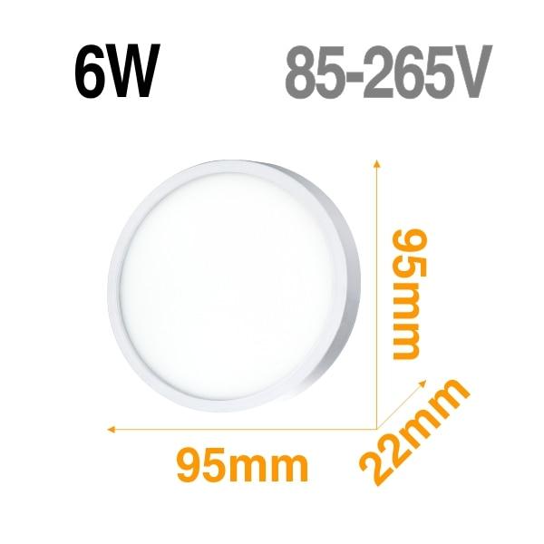 6W Mirror shape