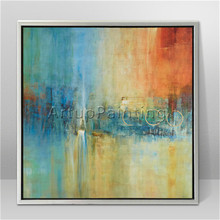 Modern abstract Colour Oil Painting Hand painted canvas  the sitting room Decorative artwork 6