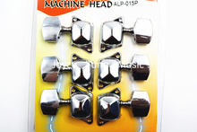 Alice ALP-015P Semiclosed Acoustic Guitar Tuning Pegs Chrome-Plated Tuners Machine Head 3L+3R Free Shipping Wholesales