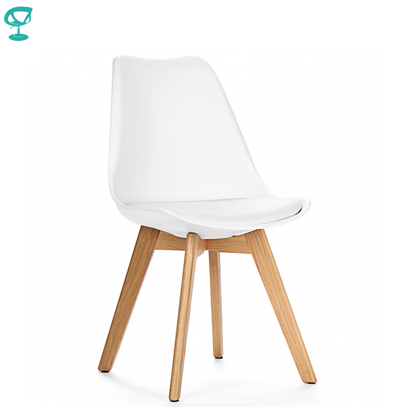 94939 Barneo N-12-2 Plastic Wood Kitchen Interior Stool Bar Chair Kitchen Furniture White Free Shipping In Russia
