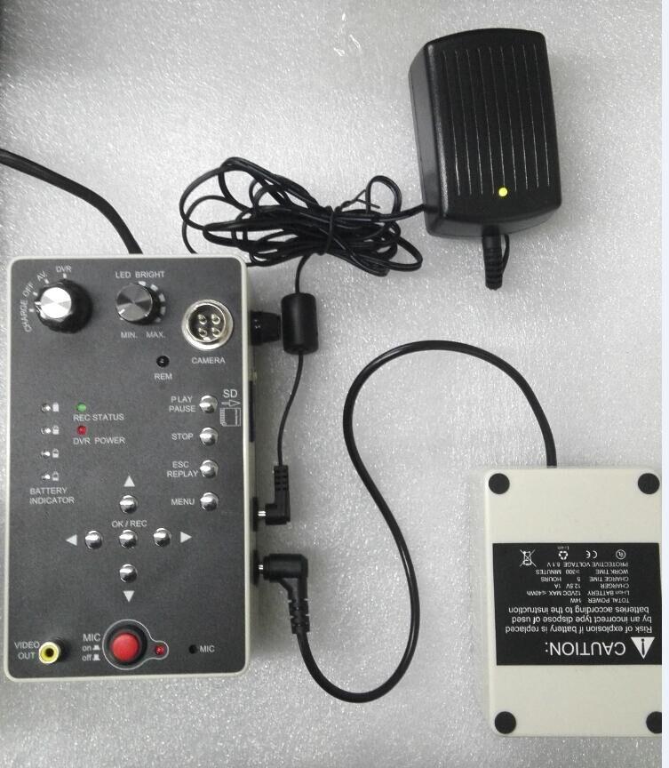 Водонепроницаемая камера Vicam для контроля скважин на глубине 150 м