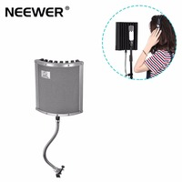 Neewer Lightweight And Portable Isolation Microphone Shield With Gooseneck Can Be Used On Vocals Drums Guitar