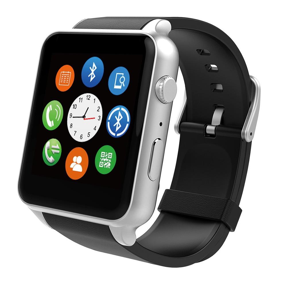 imágenes para Impermeable 2502c smart watch gt88 cámara sim bluetooth v4.0 nfc pulsómetro apoyo iphone android mx a9 dm360 smartwatch