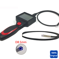 Vehicle Maintenence Inspection Tool Handheld 3.5 LCD Pipe Camera Industrial Endoscope Flexible Snake Tube 8.5mm Video Boroscope