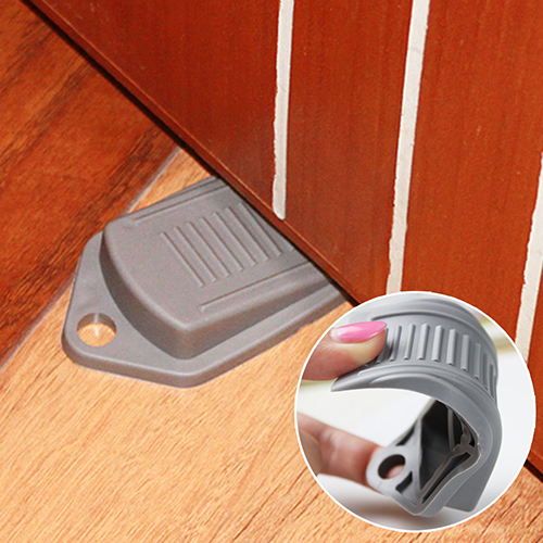 Rubber Door Stop Stoppers Safety Keeps Doors From Slamming Prevent Finger Injuries(China (Mainland & Compare Prices on Door Slamming- Online Shopping/Buy Low Price ... Pezcame.Com