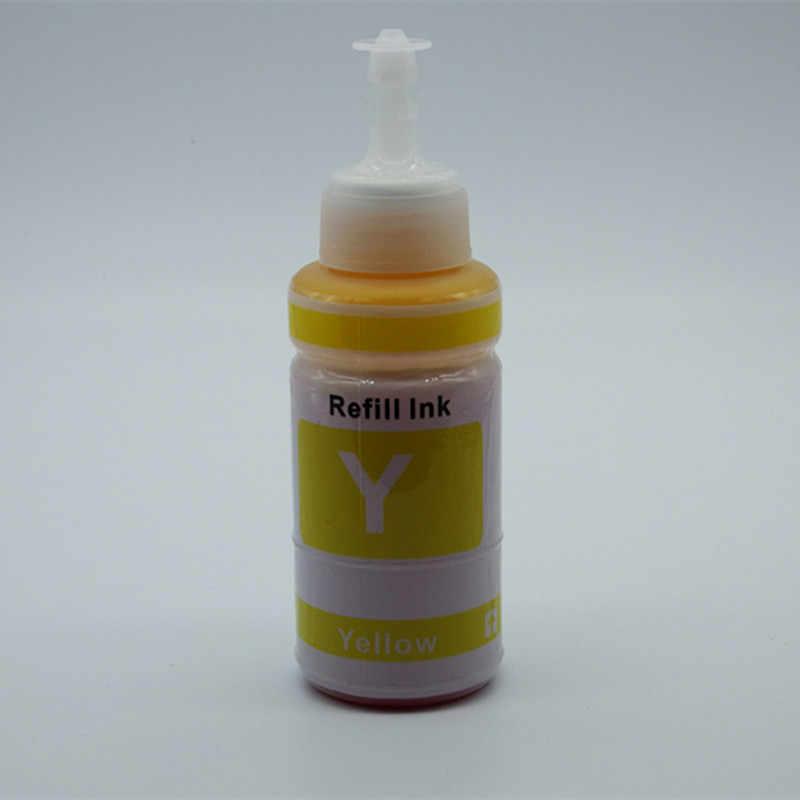 Barwnik tusz do EPSON 70ML OEM zestaw do napełniania atramentem 70ml butelka luzem uniwersalny wkład atramentowy wielokrotnego napełniania ciss do drukarki EPSON