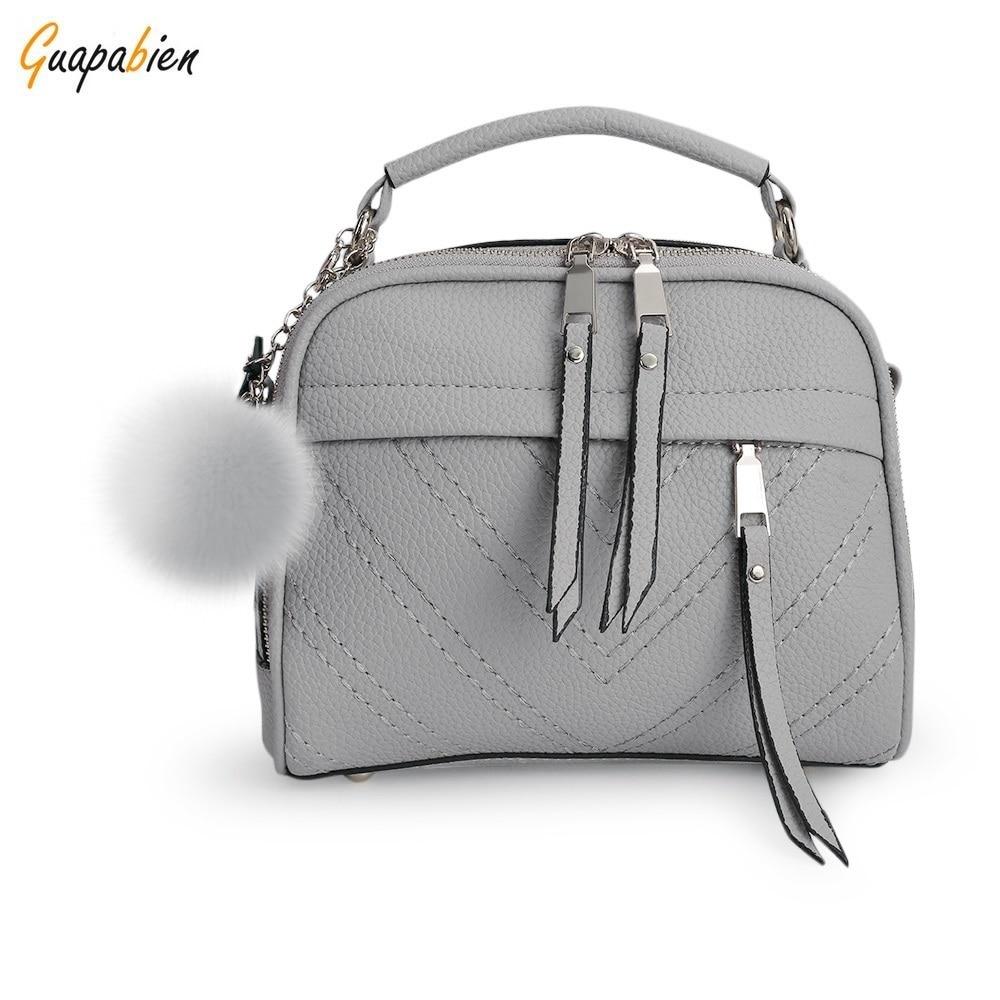 New Arrival Spring Summer Women Shoulder Bag Hairball Handbags Small Leather Satchels Crossbody Bags Women Messenger Bag приманка три кита арахис 30ml