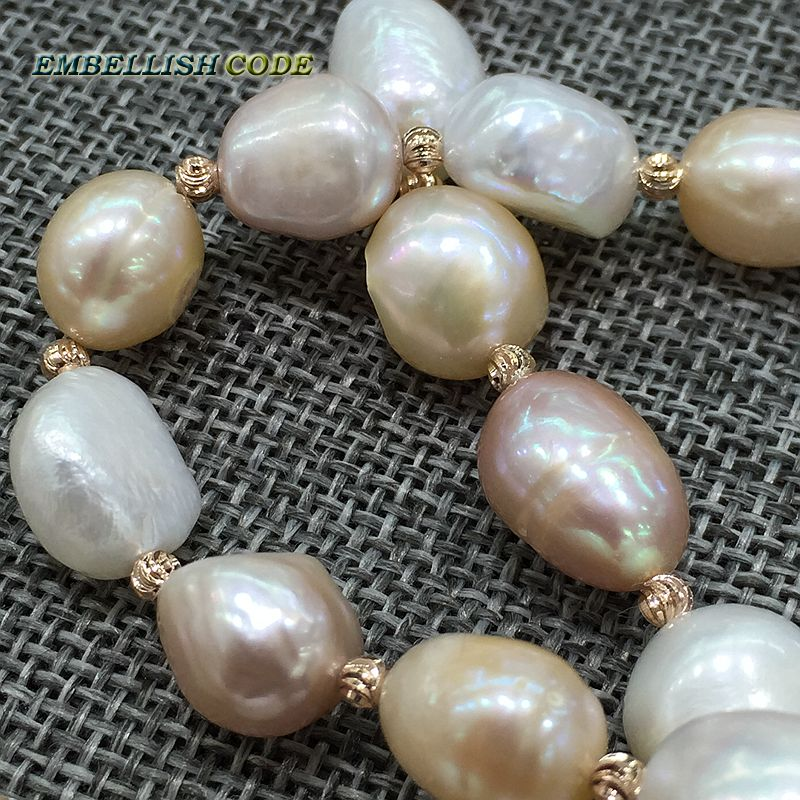 """AAA++ White Freshwater Pearl Roundel Loose Beads 8x9mm 15/"""""""