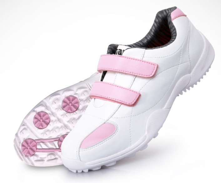 Pgm de Golfe para Crianças Novo! Sapatos Meninas Projetar Respirável Conforto Frete Grátis