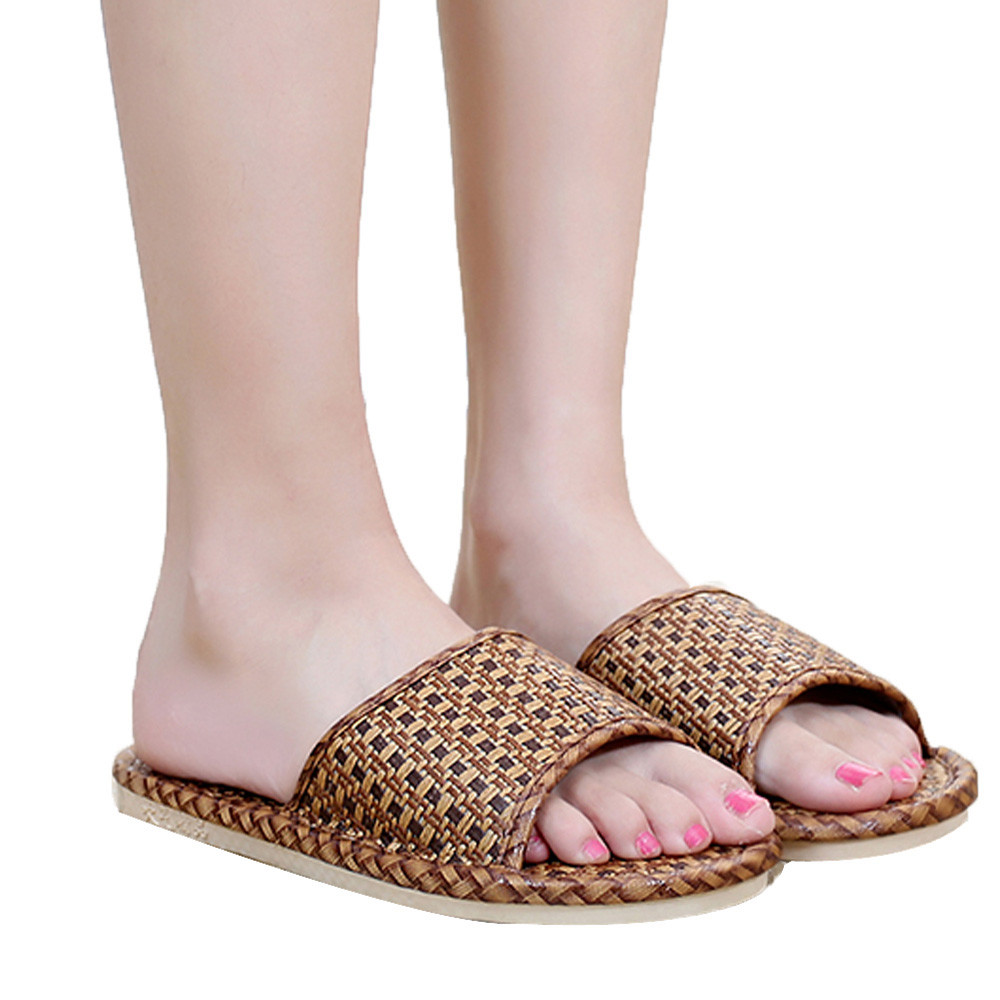 Sleeper #401 2019 NEW FASHION Unisex Cane Household Shoes Slippers Platform Flops Casual Sandals Beach home casual Free ShippingSleeper #401 2019 NEW FASHION Unisex Cane Household Shoes Slippers Platform Flops Casual Sandals Beach home casual Free Shipping