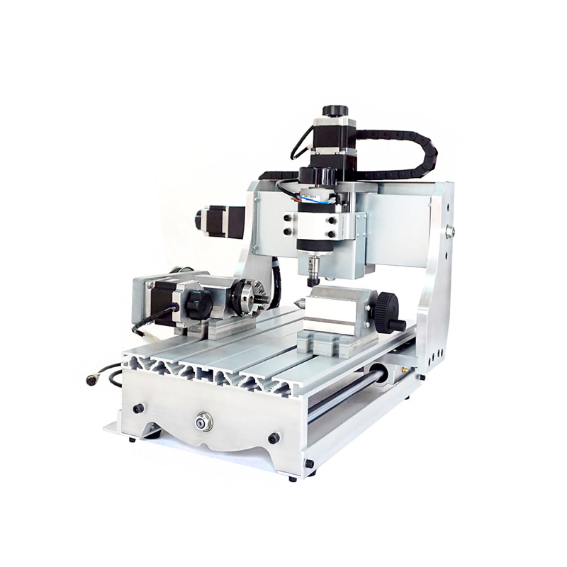 cnc router LY 3020T-D300 4 axis milling machine with 300w spindle cnc 2030 router 3020 4 axis pcb milling machine cnc wood carving machine with 300w spindle usb port