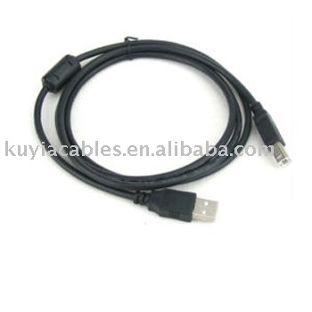 KUYiA Free Shipping USB Cable 2 0 printer cable 30pcs lot 1 5meter High speed Usb