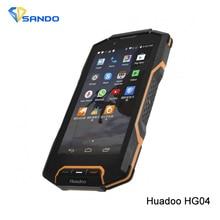 Оригинал Huadoo HG04 IP68 Android 4.4 MTK6582 1.3 ГГц Quad Core Водонепроницаемый телефон 1 ГБ RAM 8 ГБ ROM WCDMA 8MP 1280×720 GPS Dual Sim