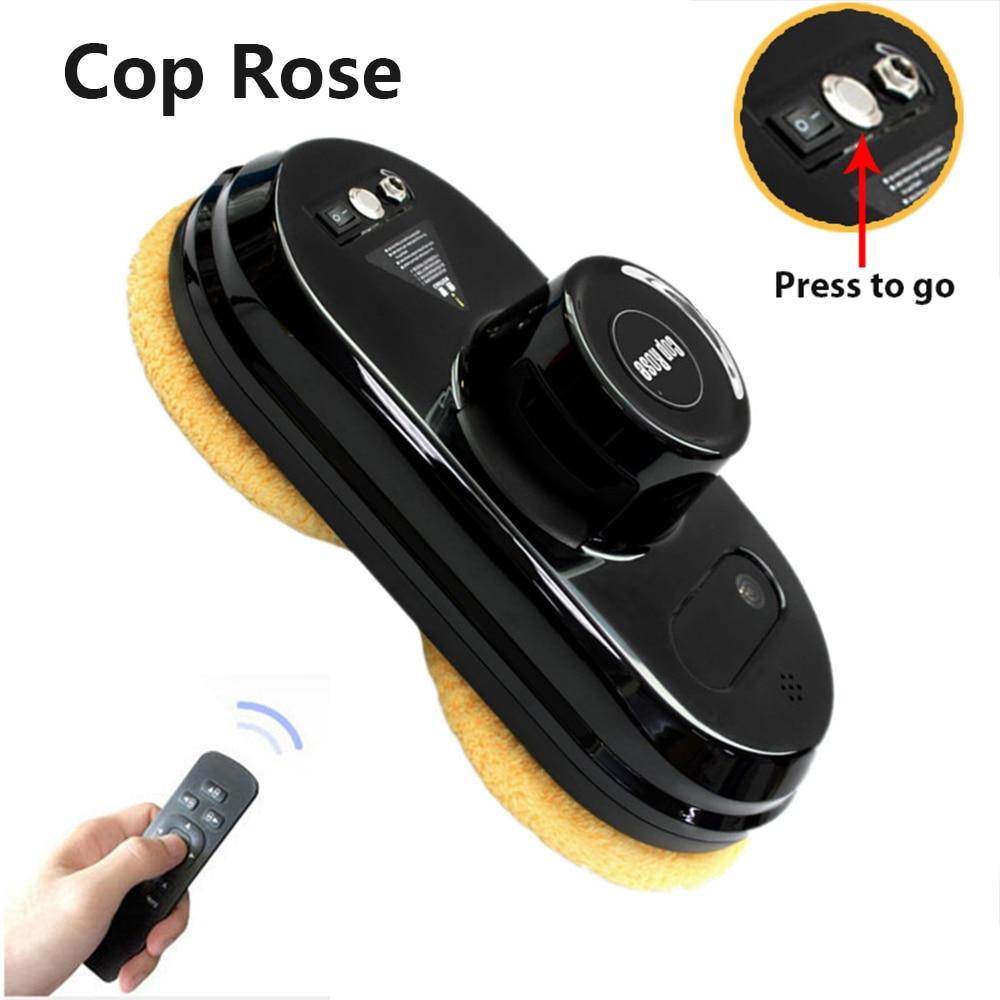 COP ROSE Fenêtre De Nettoyage Robot X5, Magnétique Aspirateur, Anti-chute, Télécommande, auto Verre À Laver, 3 Modes de Travail