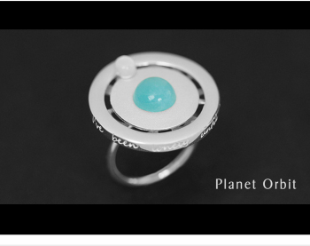 Fine Jewelry Creative Design Handmade Rotatable Ring11