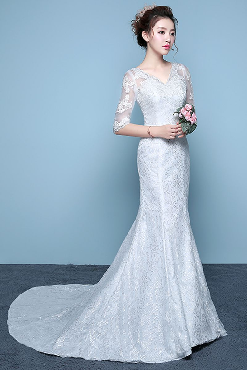 Summer wedding dress 2018 marriage bridal dresses embroidered lace ...