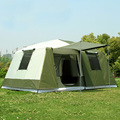 Nieuwe collectie Grote tent outdoor camping 10-12people hoge kwaliteit luxe familie/party 2 kamer 1 hal outdoor camping tent