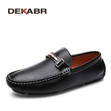 DEKABR Fashion Brand Men Shoes Luxury Men Pu Leather Shoes Casual Men
