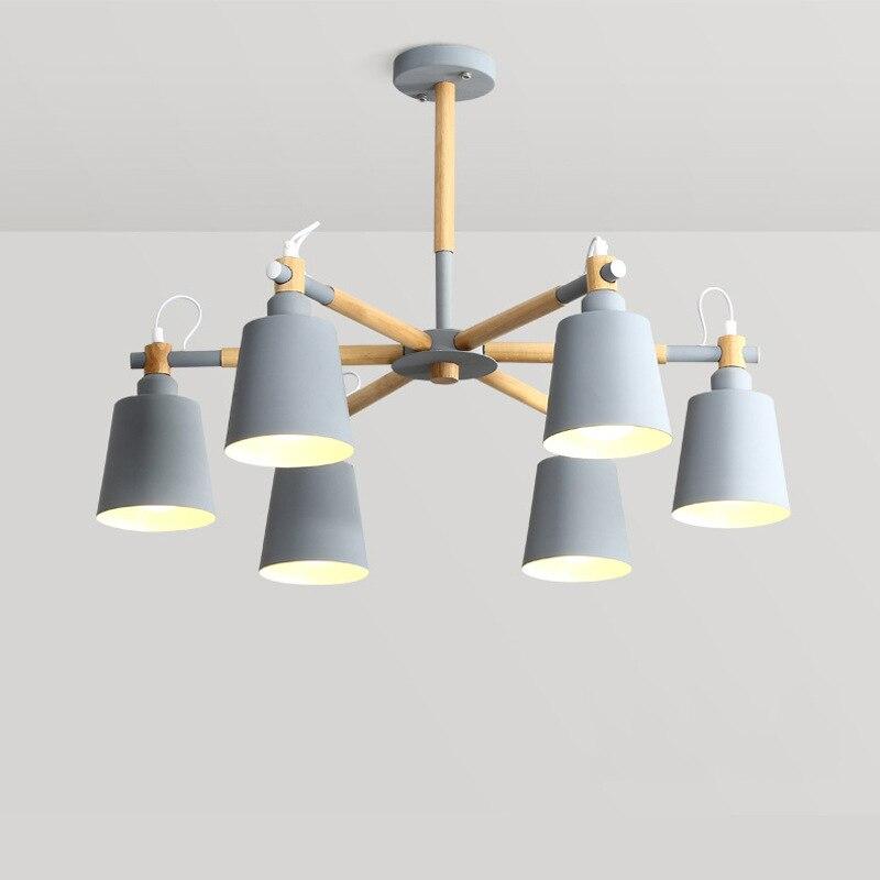 LukLoy suspension bois Macaron lampe moderne noir gris bleu vert pour Loft salon Loft chambre cuisine lampe Style nordiqueLukLoy suspension bois Macaron lampe moderne noir gris bleu vert pour Loft salon Loft chambre cuisine lampe Style nordique