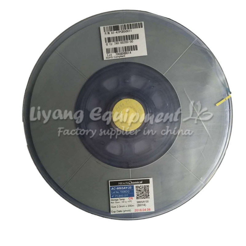 Fashion Style Original Acf Ac-9865ay-35 Pcb Repair Tape Latest Date For Pulse Hot Press Flex Cable Machine Use Hand & Power Tool Accessories