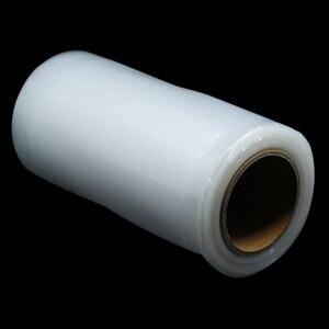 1 Rolo Em Relevo Nylon Luva De Plástico Saco de Varejo de Vácuo Selo de Calor embalagens de Alimentos De Armazenamento De Poupança Saco Poli Para A Carne Carne Congelar Saco