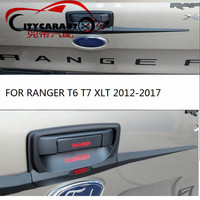 3PCS SET CITYCARAUTO FOR RANGER T6 T7 XLT Car Styling Stickers TAIL GATE Tank COVER Fit
