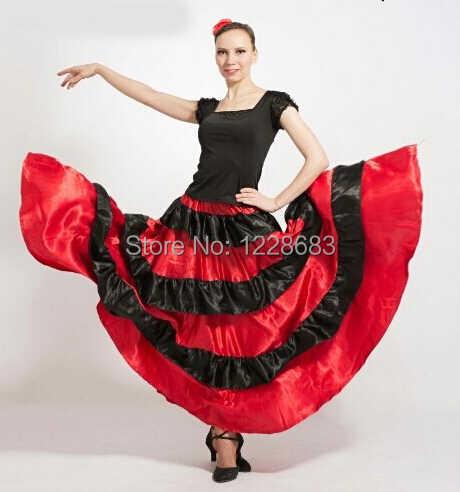 523448416 Venta caliente nuevo descuento español corrida de toros vestido danza del  vientre falda de Flamenco faldas Flamenco vestidos para niñas