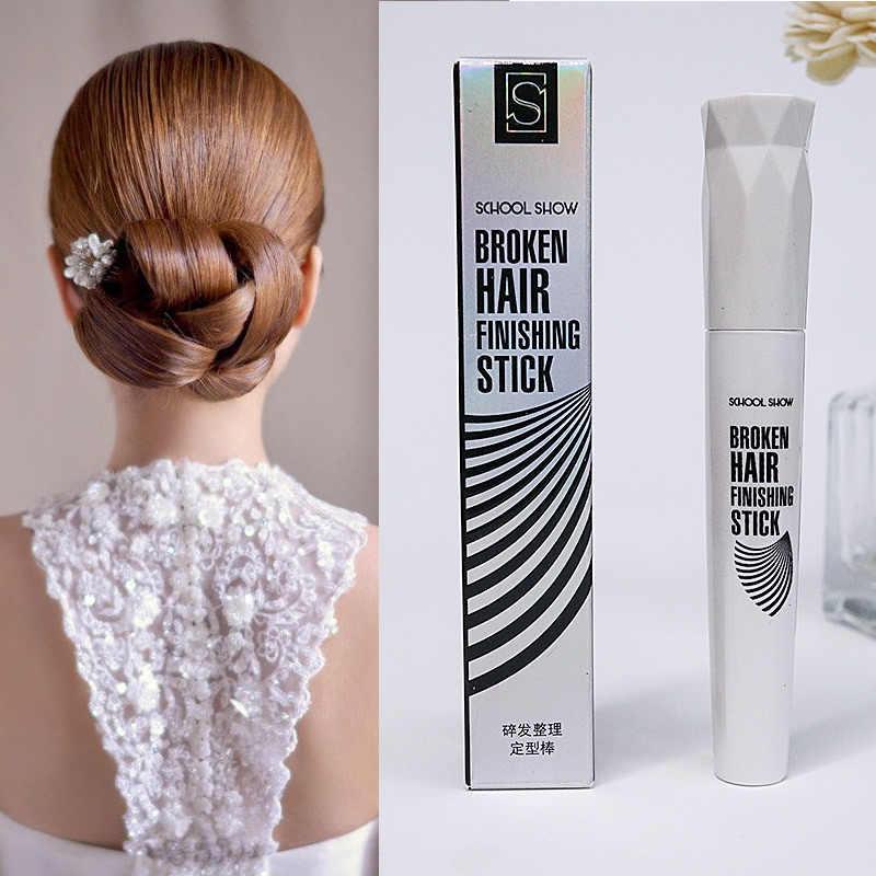 1 adet Bitirme Sabit Kırık Saç Kremi Günlük Kırık Saç Bitirme Krem Kalıplaşmış Kremi Pick Up Wisps Saç Kolay kullanmak için