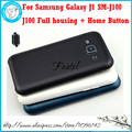 For Samsung Galaxy J1 SM-J100 J100 New Original Phone housing cover case Middle Frame Battery door + Home Button + Tool