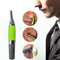 1 sztuk elektryczny nosa uszu szyi trymer do brwi wdrożenia do usuwania włosów golarka Clipper dla mężczyzny i kobiety