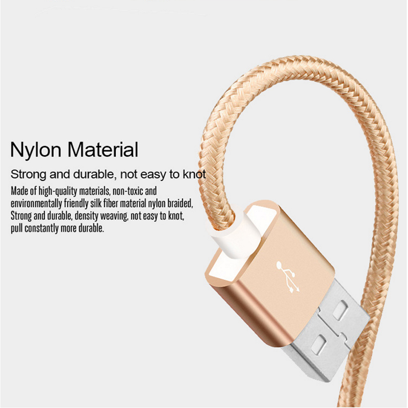 Image 5 - for xiaomi micro usb cable Nylon 2A fast charging sync data cable for xiao mi 1s/2s/3s/4s Redmi 1s/2s/3s/3X/4X/Note/2/3/4/4X-in Mobile Phone Cables from Cellphones & Telecommunications