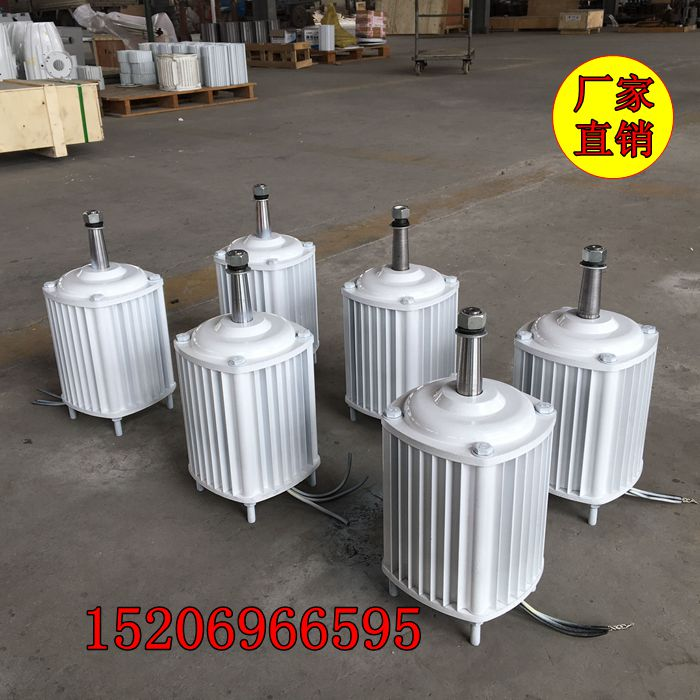 Factory direct 2kw / 2000w permanent magnet motor / synchronous generator 48v / 220v on request 60 68 ktyz 220v 40 50w deceleration permanent magnet synchronous motor polished text machine motor
