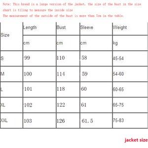 Image 5 - Модная зимняя куртка для женщин 2020 повседневное длинное зимнее пальто женское черное размера плюс женская парка casaco feminino jaqueta feminina
