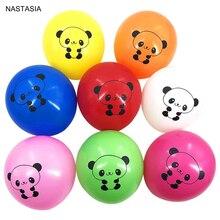NASTASIA 10 шт./лот разноцветные латексные шары с пандой 12 дюймов 2,8 г Украшения для дня рождения Детские воздушные шары