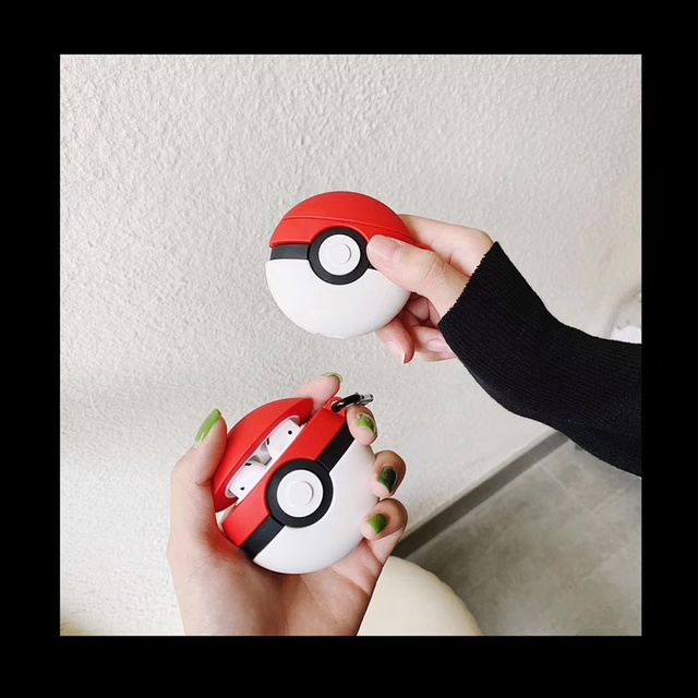 Pokeball Airpods case cover