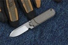 TRSKT Mini Pocket knife S35vn Steel Tc4 Titanium alloy Handle Folding knife Survival Rescue knives Edc Outdoor tools camping