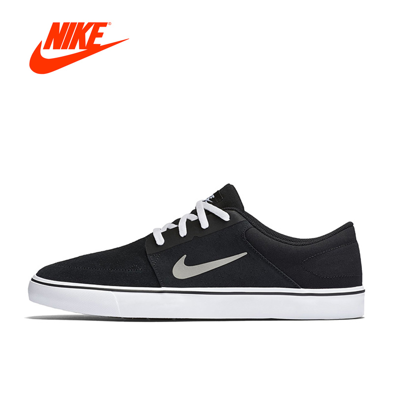 Original New Arrival Official NIKE SB PORTMORE Men's Breathable Skateboarding Shoes Sports Sneakers Classique Outdoor original new arrival official nike sb portmore women s breathable skateboarding shoes sports sneakers classique comfortable