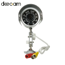 DEECAM CMOS 600TVL 3.6mm Lens IR CUT Filter Home Security Camera System Night Vision Waterproof  video Surveillance Outdoor