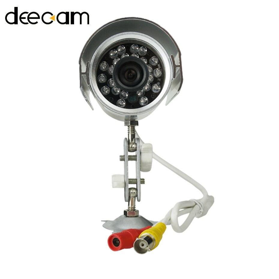 bilder für Deecam cmos 600tvl 3,6mm objektiv ir cut filter home security camera system nachtsicht wasserdichte videoüberwachung outdoor