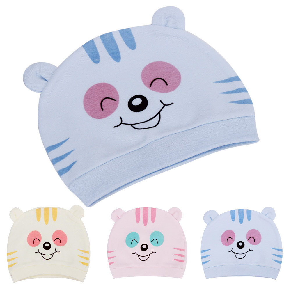 Children Skullies Baby Beanies Girls Cute Cat Hat Kids Cotton Knitted Caps Spring Autumn Animals Bunny Hats Drop Shipping New skullies