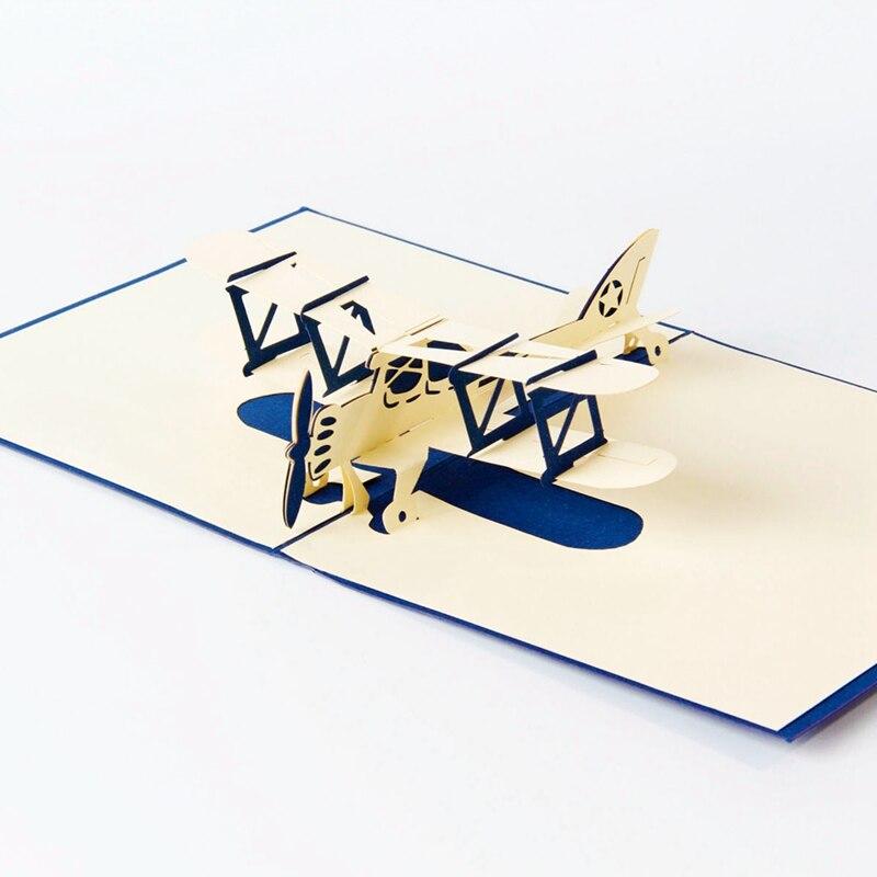 Дети, открытки самолет самодельный