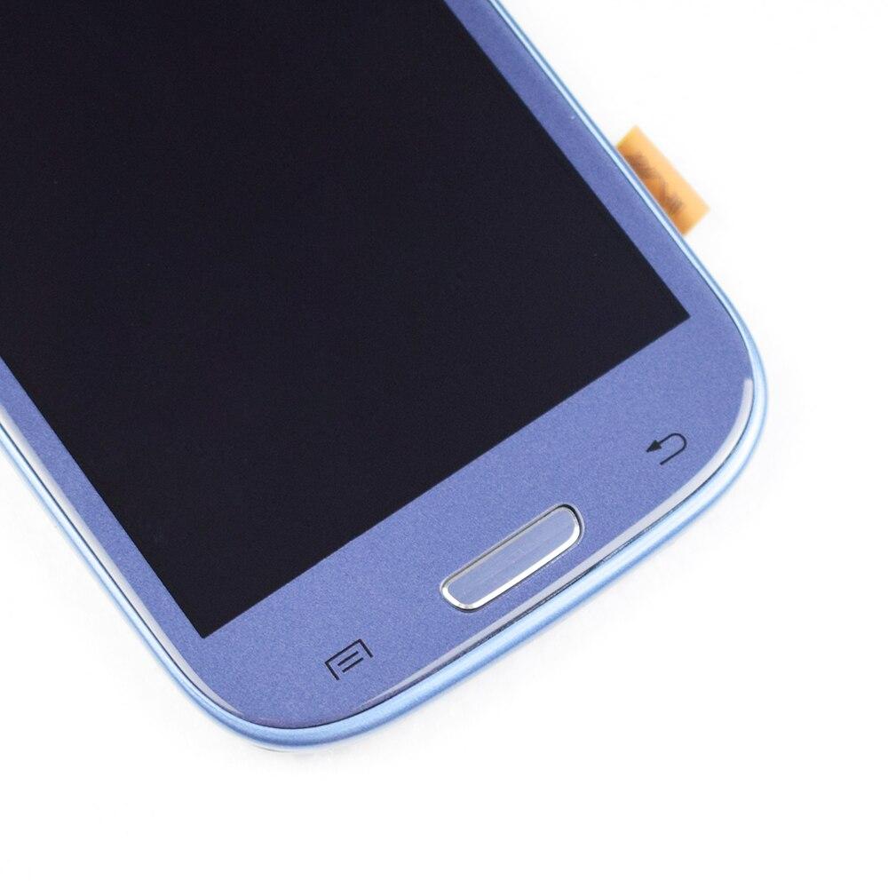 HTB1DW4fMHvpK1RjSZPiq6zmwXXa1 Original For SAMSUNG Galaxy S3 Display i9300 i9300i Touch Screen Digitizer Replacement For SAMSUNG Galaxy S3 LCD Screen Frame