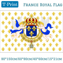 Royal Standard of the Kingdom France 1643-1765 Ensign Flag 3ft x 5ft Polyester Banner Flying 150* 90cm Custom flag outdoor