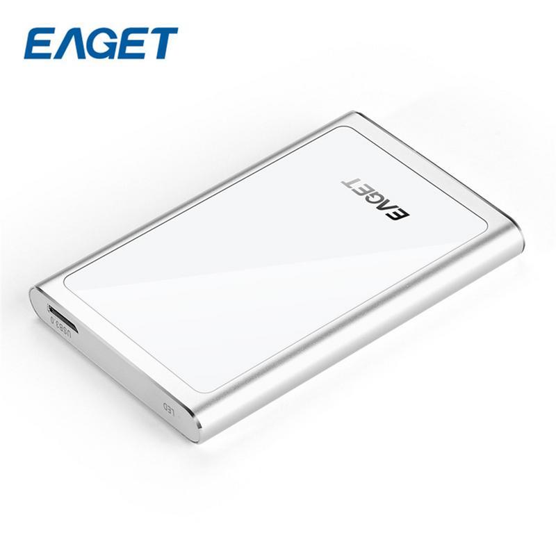 EAGET HDD 2.5 disques durs externes 2 TO USB 3.0 Haute Vitesse 2 TO HDD disque dur externe Antichoc De Bureau Pour PC Portable Tablet