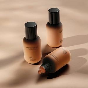 Image 5 - Gesicht Foundation Creme Concealer Volle Abdeckung Matte Basis Professionelle Make Up Haut Ton Corrector Für Dunkle Haut Schwarz Menschen