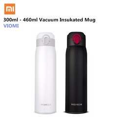 Xiaomi VIOMI Portable Vacuum Thermos 300ML/460ML Lightweight Alloy Material 24 Hours Thermos Single Hand ON/Close