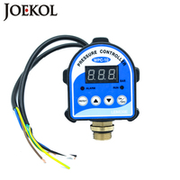 Free Shipping WPC10 Digital Water Pressure Switch Digital Display Eletronic Pressure Controller For Water Pump With